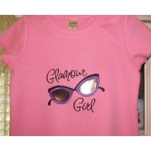 Glamour Girl Sunglasses stitched by Shirley Clark