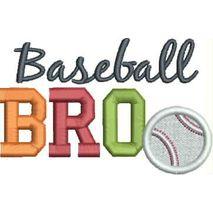 Baseball BRO 4x4 Satin Snap Shot