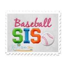 Baseball SIS 4x4 Satin