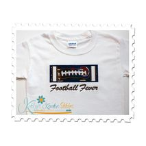 Football Applique Block