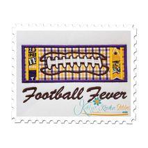 Football Applique Block