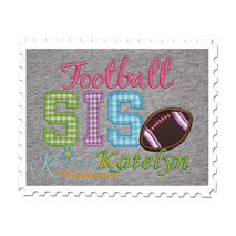 Football SIS Applique