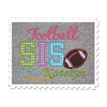 Football SIS Applique
