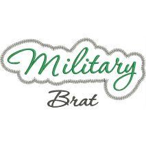 Military Brat Satin Snap Shot