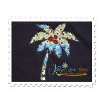 Palm Tree Reverse Applique