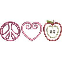 Peace, Love and Teach Snap Shot