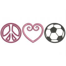 Peace Love and Soccer Snap Shot