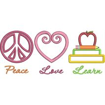Peace Love and Learn Snap Shot