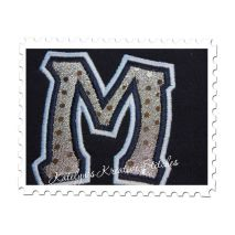 Soccer Mom Applique Close Up