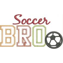Soccer BRO Applique Vintage Snap Shop