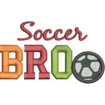 Soccer BRO 4x4 Satin Snap Shot