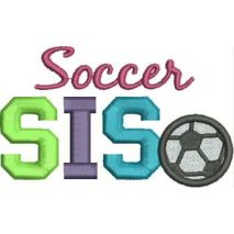 Soccer SIS 4x4 Satin Snap Shot