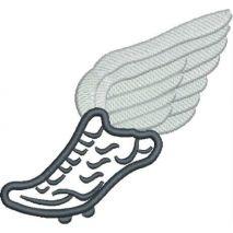 Track Shoe Applique Snap Shot