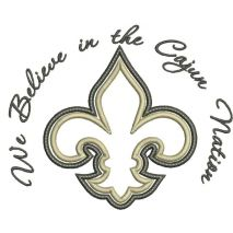 We Believe in the Cajun Nation Snap Shot