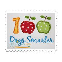 100 Days Smarter Applique