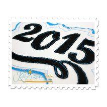 2015 Distressed Applique Close Up