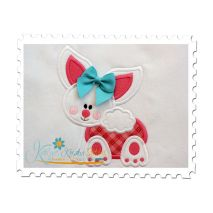 Baby Bunny Applique (5x7)