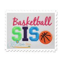 Basketball SIS 4x4 Satin
