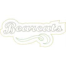 Bearcats Distressed Applique Snap Shot