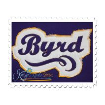 Byrd Distressed Applique