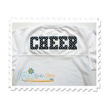 Football Jersey Sample - Cheer