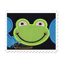 FROG Applique Close Up