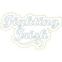 Fighting Irish Distressed Applique Snap Shot