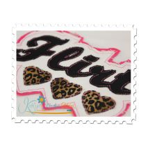 Flirt Distressed Applique