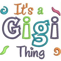 It's a Gigi Thing Applique Snap Shot