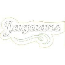 Jaguars Distressed Applique Snap Shot