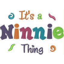 It's a Ninnie Thing Fill Stitch Snap Shot (5x7)