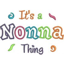 It's a Nonna Thing Applique Snap Shot