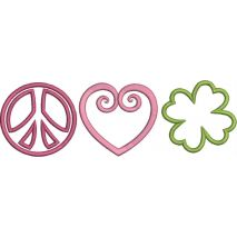 Peace Love and Shamrock Snap Shot