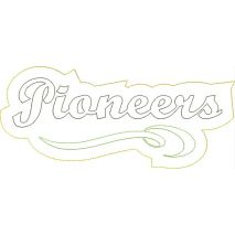 Pioneers Distressed Applique Snap Shot