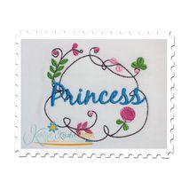 Springtime Princess Frame