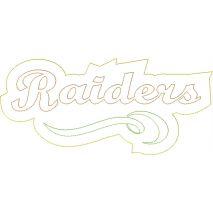 Raiders Distressed Applique Snap Shot
