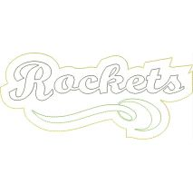 Rockets Distressed Applique Snap Shot