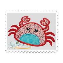 Sea Crab Applique
