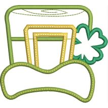 St. Paddy's Day Hat Applique Snap Shot
