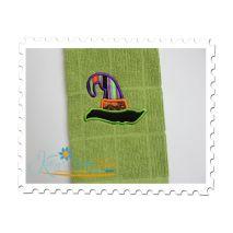 Witch Hat Applique 2 - Towel Sample