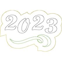 2023 Distressed Applique Snap Shot
