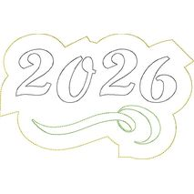 2026 Distressed Applique Snap Shot
