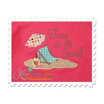 Beach Scene Applique