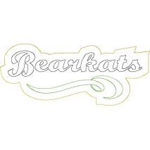 Bearkats Distressed Applique Snap Shot