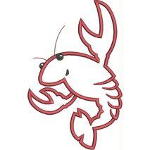 Crawfish Applique Snap Shot (5x7 and 6x10)