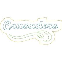 Crusaders Distressed Applique Snap Shot