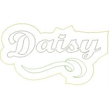 Daisy Distressed Applique Snap Shot