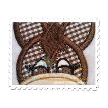 Donkey Applique - Stitched by: Monogram It
