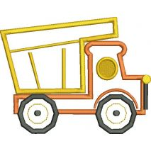 Dump Truck Applique Snap Shot