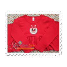 Gingerbread Girl Applique (Dress)
